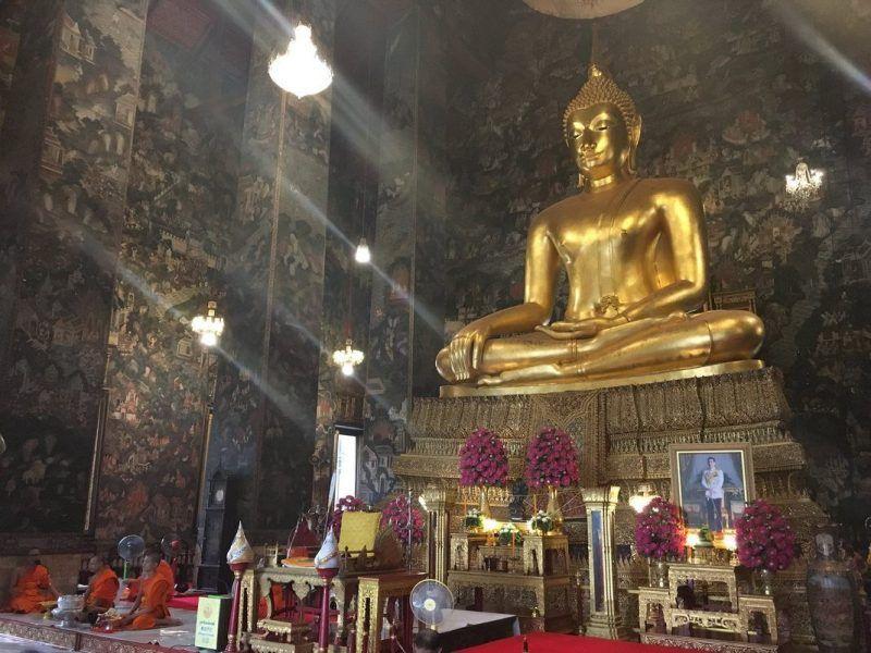 3 días en Bangkok: Wat Suthat